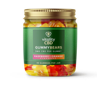 Vitality CBD 5mg Gummy Bears - Mixed Fruit